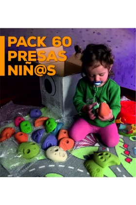 PACK PRESAS PARA NIÑOS