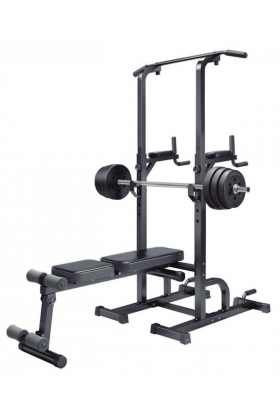 BANCO WEIGHT BENCH CHIN UP RACK