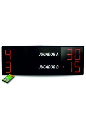 MARCADOR ELECTRONICO FUTBOL 4 DIGITOS